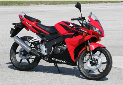 80km new honda cbr125r mint condition | motorcycles | gumtree