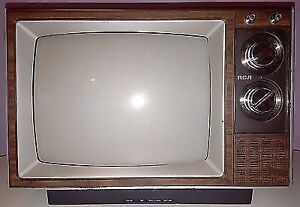 Small TV (CRT) from the '80s
