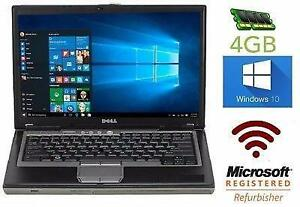"MEGA SOLDE DES FÊTES: Dell Latitude D630 Core 2 Duo - MEM 4Gb - 80GB - 14.1"" - Win 10"