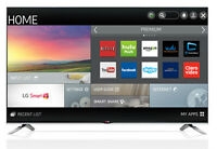 """50"""" LG Smart LED TV in box with all accessories can deliver"""