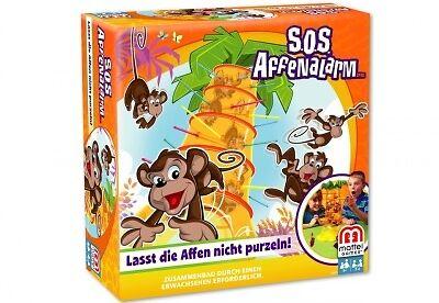 Mattel SOS Affenalarm Kinderspiel Spiel  Neu OVP