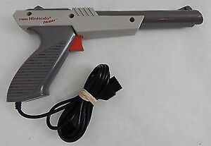 NES Nintendo Zapper Gun- Rarer Grey Model. $15 or Trades