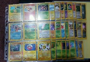 Recherche vielles cartes pokémon.