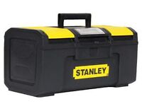 Stanley 16-inch One Touch Toolbox - AS NEW, RRP £15