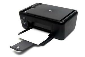 HP Deskjet F4480 Inkjet All-in-One Printer