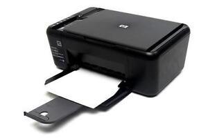 HP Deskjet F4480 Inkjet All-in-One Printer