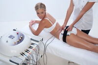 LED Lipo light technology and whole body vibration
