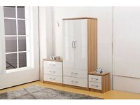 2 DAYS LEFT EVERYTHING REDUCED including all NEW Beds Bedsides Chests of drawers etc £35 - £995