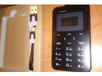 Mini Credit Card Size Mobile Phone