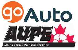 ATTN: AUPE MEMBERS/FAMILY MEMBERS.GO AUTO DISCOUNT AVAILABLE