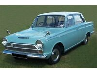 CLASSIC FORD CORTINA WANTED FORD CORTINA MK1 MK2 WANTED
