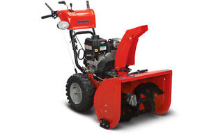 BROTHERS TWO SMALL ENGINES INC. SIMPLICITY TWO STAGE SNOWBLOWER