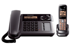 Expandable Digital Cordless Phone w Answering System, 1 Handset