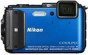Nikon Coolpix AW130 Yellow Waterproof Underwater Digital Camera