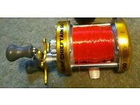 New Gold Fladen Surf Chieftain Multiplier Reel 60