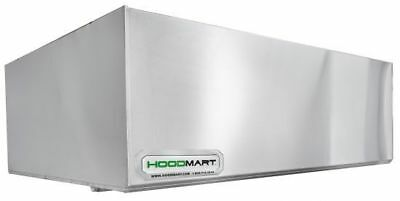Hoodmart 8 X 48 Type 1 Commercial Kitchen Exhaust Hood - Restaurant Hood