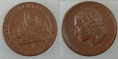 Medaille Zur Erinnerung an den Besuch in Meissen (32066)