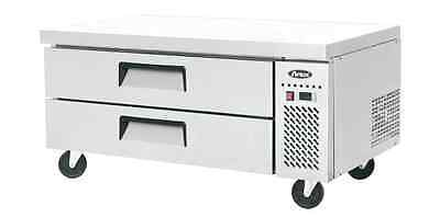Atosa Commercial 52 2 Drawer Chef Base Refrigerator Cooler Mgf8451
