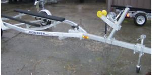GALVANIZED BOAT TRAILER- for 14' alum. boat * WANTED