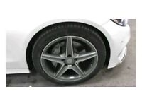Swapping Mercedes 18inch amg alloys for 18inch multi spoke alloys