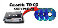 Service for converting audiotapes/audiocassettes to audio CD