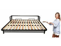 Horizontal Wall Bed 140x200(Hidden Bed, Guest Bed, Murphy Bed, Wallbed) Clearance
