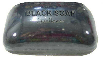 AFRICAN BLACK SOAP- World Renown- All Natural- Acne,Scar,Wrinkle,Treatment-Cure  (African Black Soap Bar)