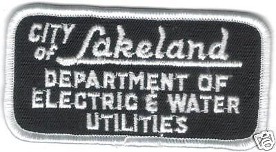 LAKELAND ELECTRIC & WATER UTILITIES PATCH