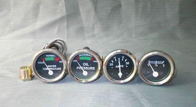 Massey Ferguson Oil Pr Femaletempfuel Amp Gauge Set Te20to20to30t035f40
