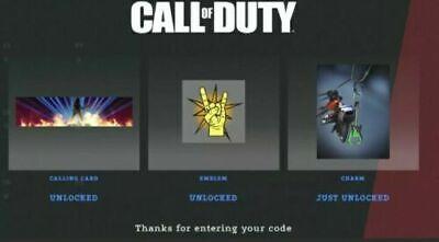 Call of Duty Black Ops Cold War ROCKSTAR FULL SET OF CODES [REGION FREE]