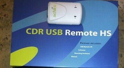 Schick Cdr Hs Whiteblue Remote Hub W 6ft Usb Cord Mount Dental Digital Wbox