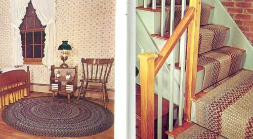 Beautiful Braiding booklet: so much info for making braided rugs, stair runner +