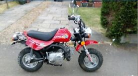 NEW LIFAN ROAD LEGAL MONKEY BIKE LF70GY-2 NATIONWIDE DELIVERY AVAILABLE