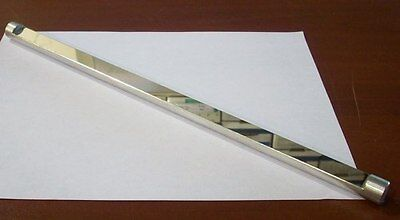 Large Aluminum Coated Laser Mirror 345mm In Length By 15mm In Dia. New
