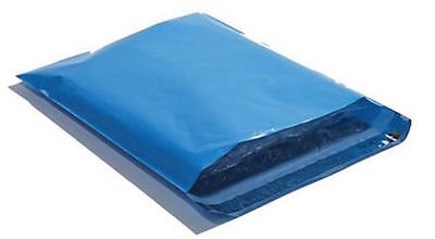 25 10x13 BLUE Poly Mailers Shipping Envelopes Couture Boutique Shipping  Bags