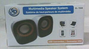système de haut-parleurs de multimédia/ speaker system