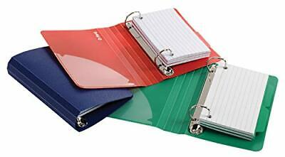 Oxford Index Card Binder With Dividers 3 X 5 Color Will Vary 50 Cards1 Bind...