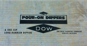 Brand new - Pour-on Dippers - one cup ladles spoons