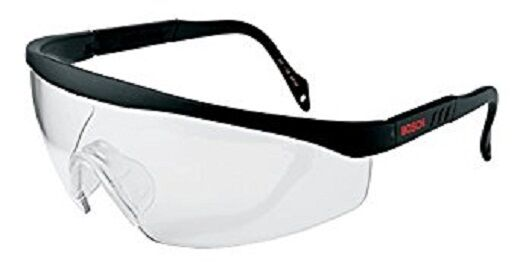 Bosch F016800178 Protective Safety Goggles Glasses & Case - complies with EN166