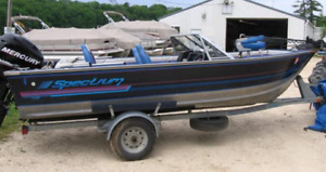 I am looking for a 16 to 17 foot aluminum boat