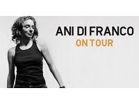 Ani Difranco live THIS Sunday @ London Palladium