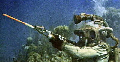 Disney 20,000 Leagues Under the Sea Nautilus Sub Nemo's Underwater Gun Blueprint
