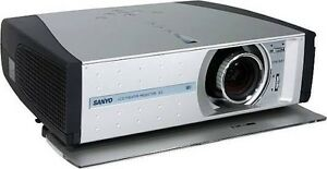 Sanyo Z2 projector Southbank Melbourne City Preview