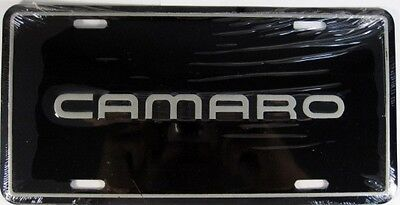 Camaro License Plate Chevrolet Chevy Metal Sign L209