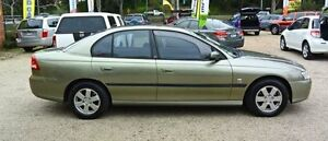 2002 Holden Commodore VY Acclaim Green 4 Speed Automatic Sedan Upper Ferntree Gully Knox Area Preview