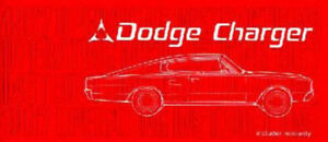 1967 Dodge Charger Owners Manual ( Reprint ) SOLD PPU
