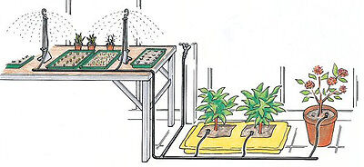 Greenhouse Watering Kit by Simply Control