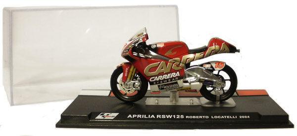 Ixo/altaya Alt20 Aprilia Rsw125 2004 - Roberto Locatelli 1/24 Scale