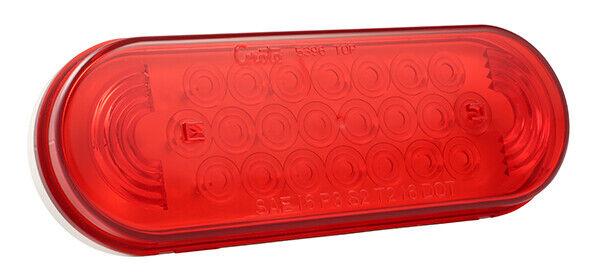 Grote 52072 Red SuperNova Oval LED Stop Tail Turn Light (Grommet Mount)