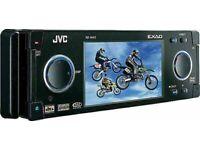 ***JVC KD-AVX2 - CAR STEREO PLAYER DVD VIDEO RADIO CD MP3 AVX - 3.5 INCH SCREEN -RRP£300 (ALPINE)**